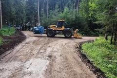 Wegebau-bewässern