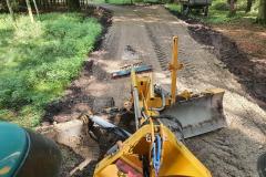 Wegebau-planie